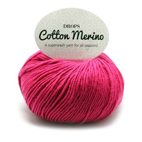 Пряжа Drops Cotton Merino 14 мальва
