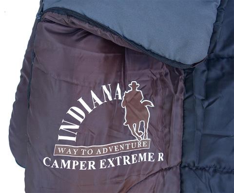 Спальный мешок INDIANA Camper Extreme, логотип.