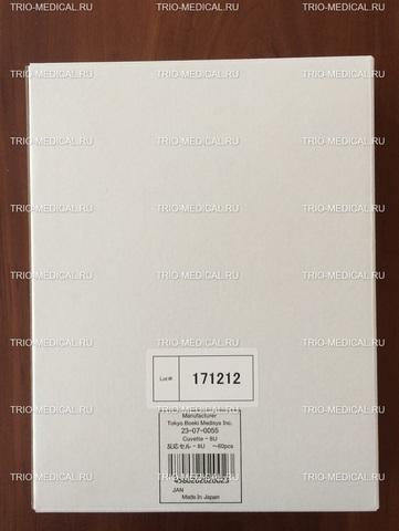 23-07-0055 Реакционные кюветы (Reaction cuvettes), 60 шт/уп - Hirose Electronic System Co., Ltd, Япония