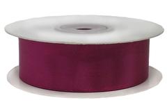 Лента атласная Пурпурный (лиловый), 12 мм*22,85 м