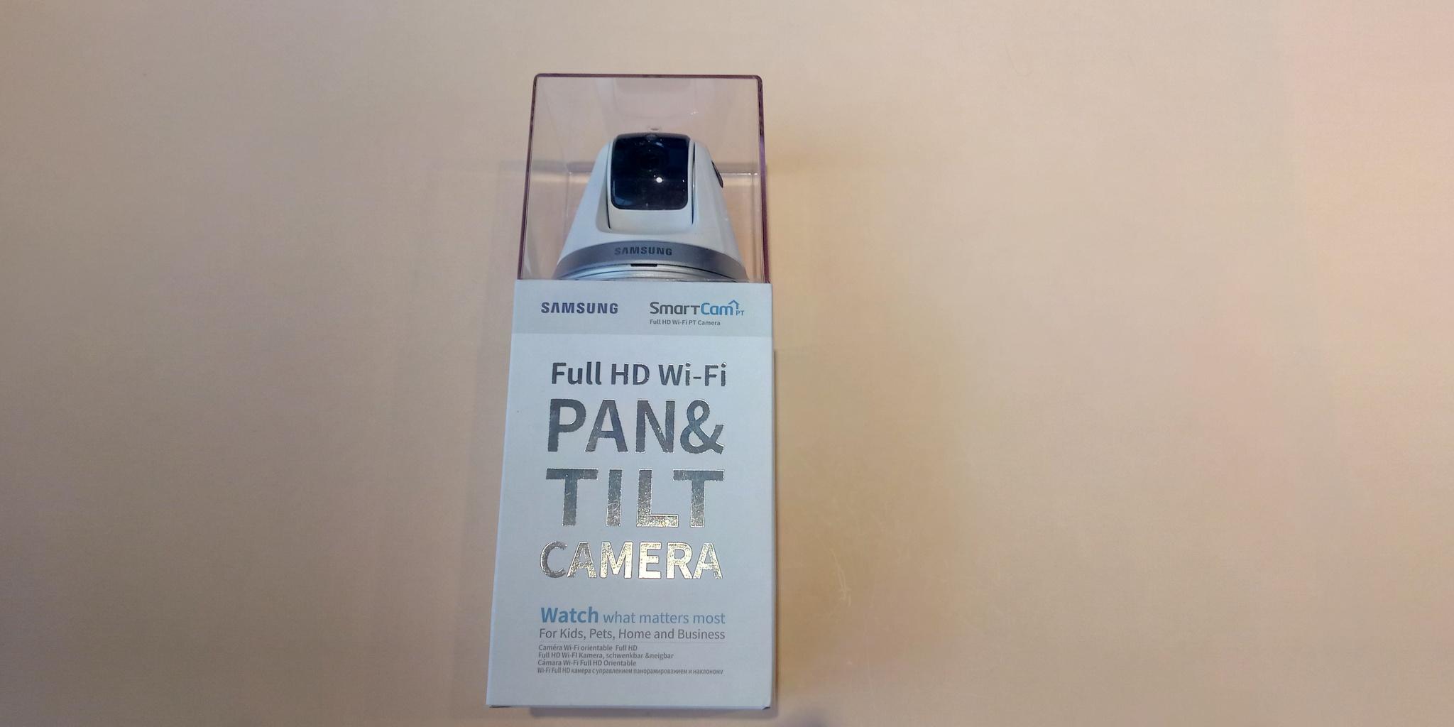 Видеоняня   Samsung Smartcam snh v6410pnw