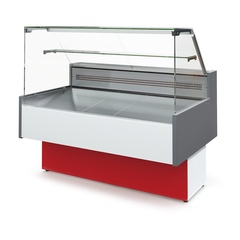 Холодильная витрина Таир ВХС-1,2 Cube ( 1170х960х1190 мм, 4,3кВт/сут.)   0…+7 C°