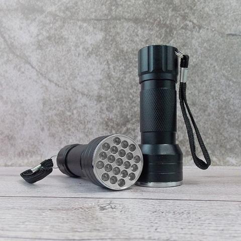 Уф фонарик UV Flashlight 21 LED 365 нм