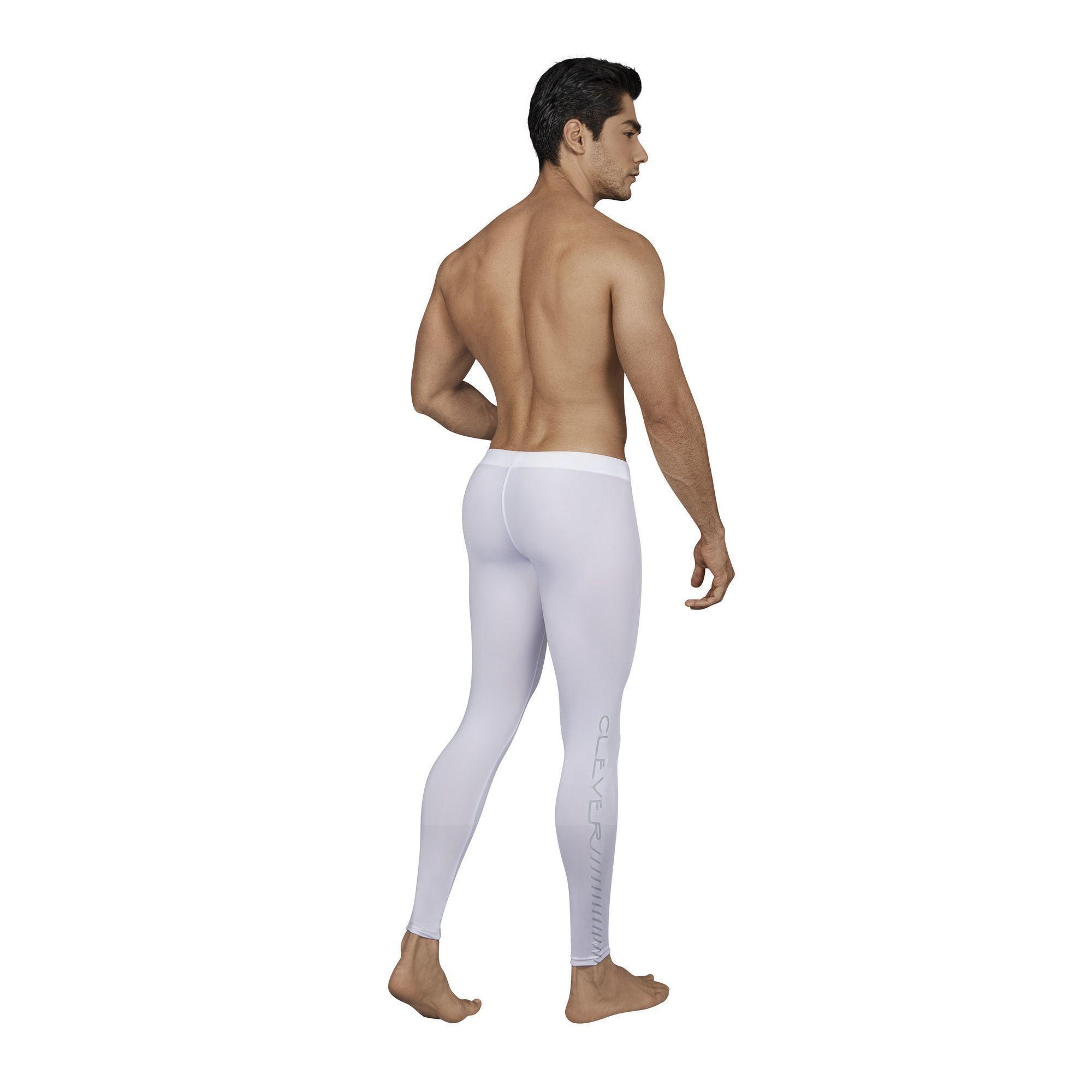 Мужские кальсоны белые Clever NIRVANA LONG PANT 015901