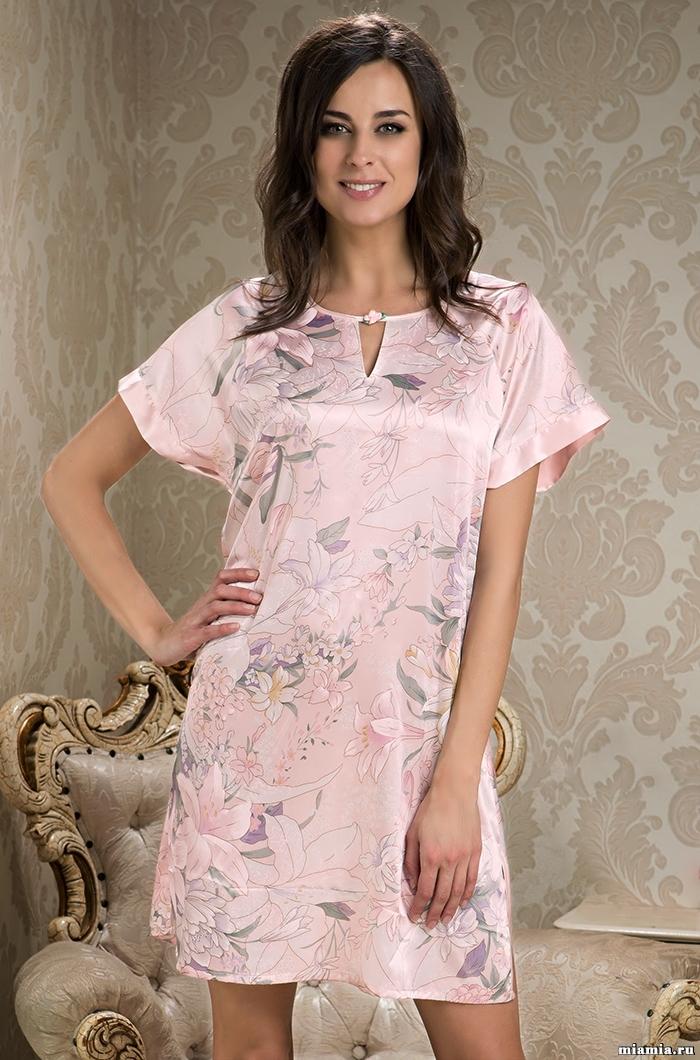 Сорочки ночные женские Туника женская шелковая MIA-MIA EDEM  Эдем  5955 5955.jpg