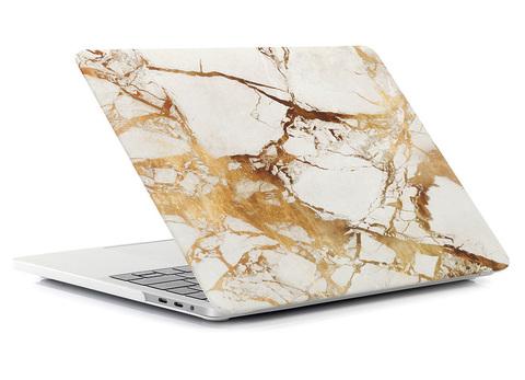 Чехол для Macbook - Золотой мрамор