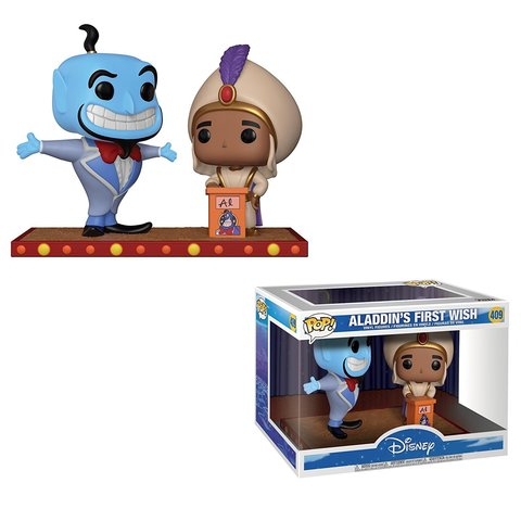 Фигурка Funko POP! Disney: Movie Moment: Aladdin — Genie First Wish