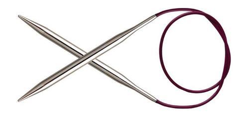 Спицы KnitPro Nova Metal круговые 4,5 мм/100 см 11353