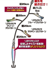Пилькер-сабики Hayabusa HA281 10g 20g 30g