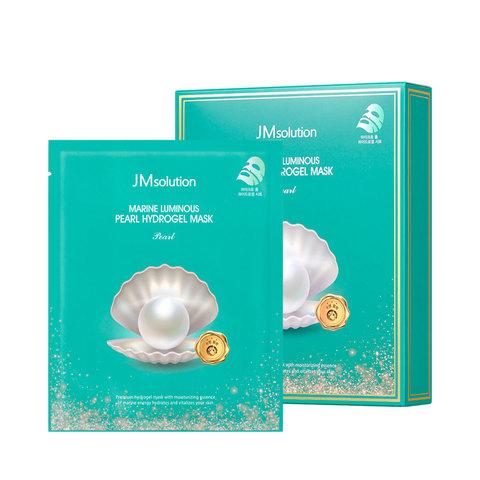 JMSOLUTION Гидрогелевая маска с жемчугом JMSOLUTION Marine Luminous Pearl Hydrogel Mask 30 мл.