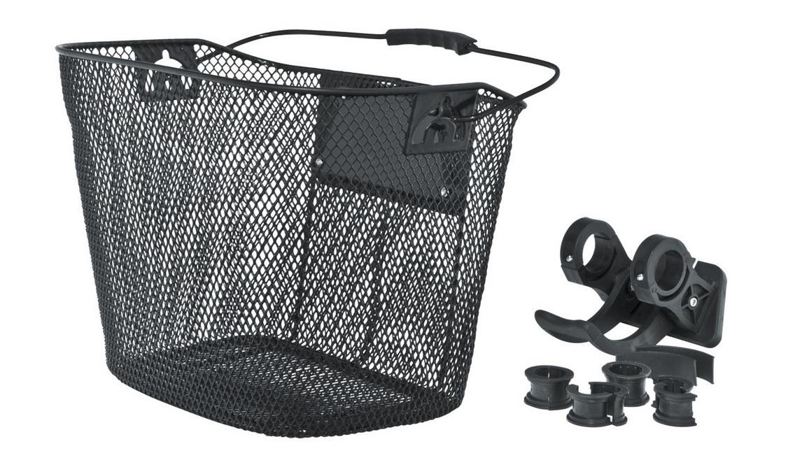 Велокорзина Eastman передняя, проволочная, быстросъемная