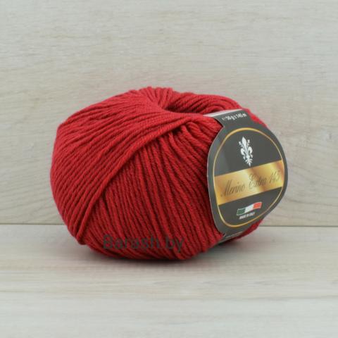 Пряжа Merino Extra 145 (Мерино экстра 145) Темно-красный