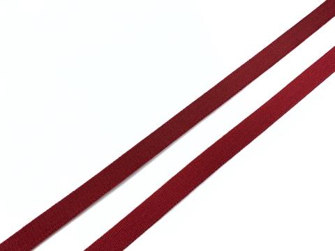 Резинка бретелечная темно-красная 10 мм (цв. 101)