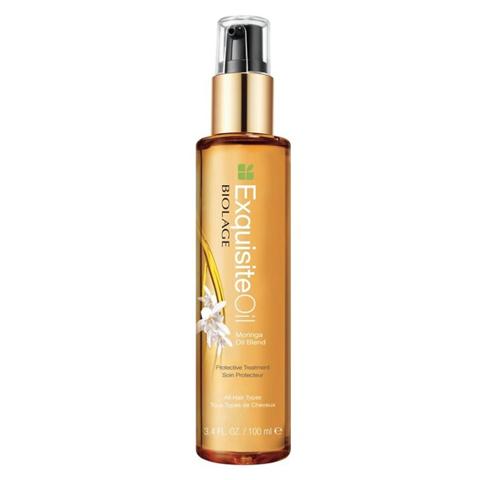 Matrix Biolage Exquisite Oil: Питательное масло для волос (Moringa Oil Blend), 100мл