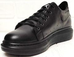 Осенние женские кроссовки на высокой подошве EVA collection 0721 All Black.