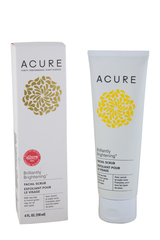 Acure, Brilliantly Brightening, скраб для лица, 4 ж. унц. (118 мл)