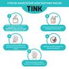 Маска альгінатна очищуюча Вугілля-Ретинол Tink 15 гр (7)