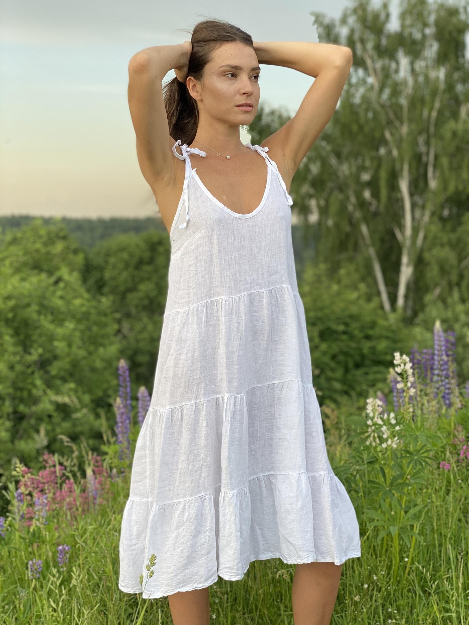 Платье, Ballerina, HELLO SUMMER (цвет лилии)