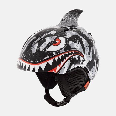 Шлем детский GIRO LAUNCH PLUS Black/Grey Tiger Shark