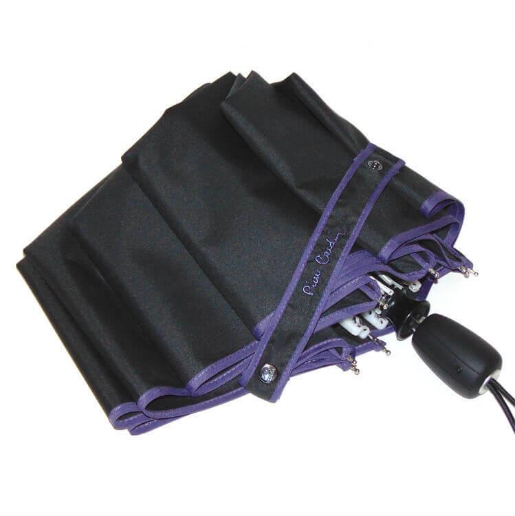 Зонт складной Pierre Cardin 82446 Signature black/lilac