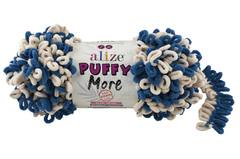 Пряжа Alize Puffy More цвет 6263