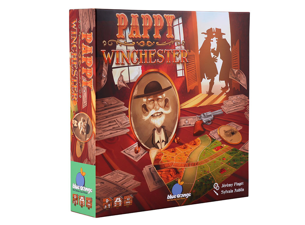 Настольная игра Дедуля Винчестер (Pappy Winchester) англ.