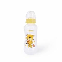 6881 FISSMAN Бутылочка для кормления 300 мл, цвет ЖЕЛТЫЙ (пластик)