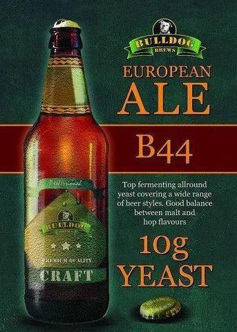 Пивные дрожжи Bulldog B44 European Ale