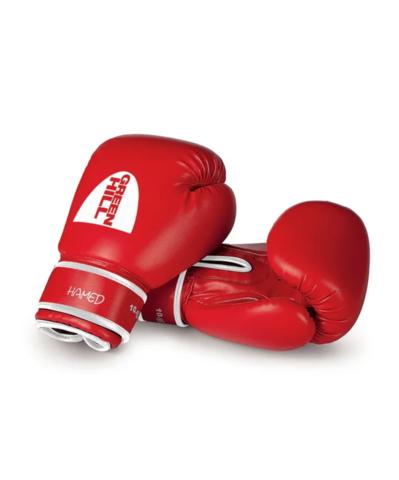 Перчатки боксерские HAMED Green Hill красные