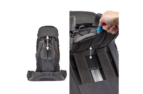 Картинка рюкзак туристический Thule Guidepost 65L Синий - 4