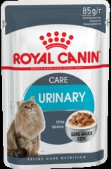 Пауч для кошек, Royal Canin Urinary Care, профилактика мочекаменной болезни, (в соусе)