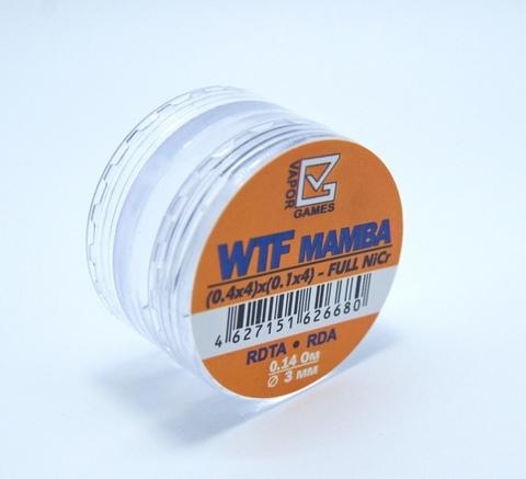 Готовая намотка Vapor Games WTF Mamba (0.4x4)x(0.1x4) Ø3 0.14 Ω