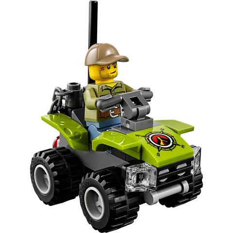 LEGO City: Набор для начинающих Исследователи вулканов 60120 — Volcano Starter — Лего Сити Город