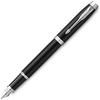 Parker IM Essential F319 - Matte Black CT, ручка перьевая, F