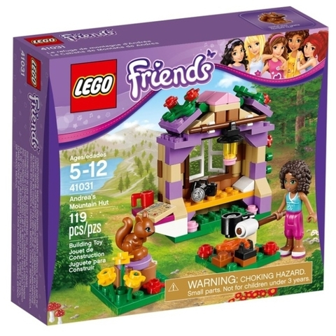LEGO Friends: Домик Андреа в горах 41031 — Andrea's Mountain Hut — Лего Френдз Друзья Подружки
