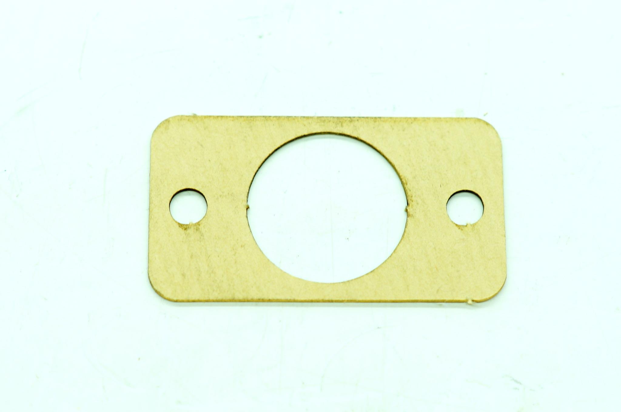 Прокладка кнопочного выключателя плафона салона Газ 12, 20, 21, 24