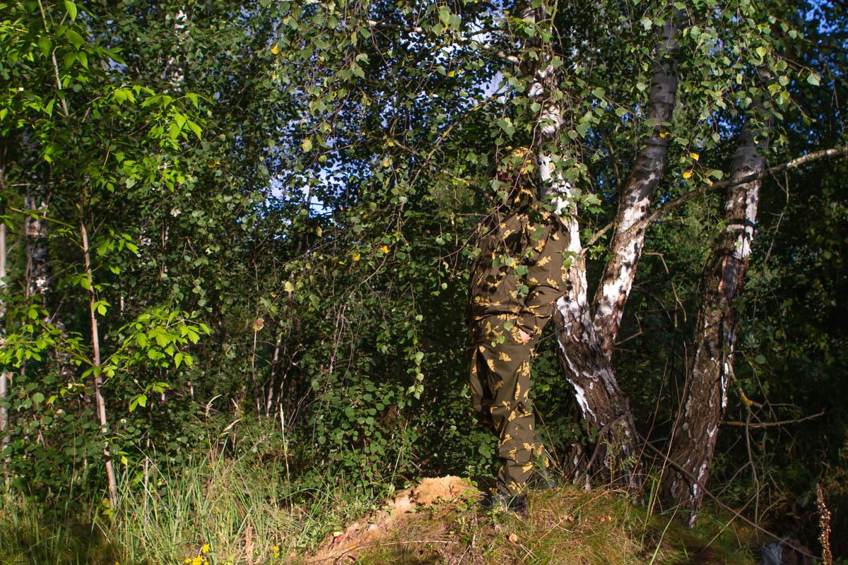 Маскхалат желтая березка Пограничник