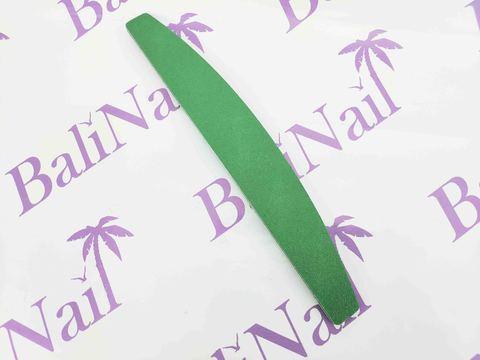 Пилка для ногтей многоразовая (100/180) зеленая