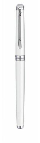 Ручка-роллер Waterman Hemisphere, цвет: White CT, стержень: Fblack123