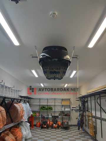 Проект № 32: гараж 47 кв. м (оптимальное ипользование стен) + видео
