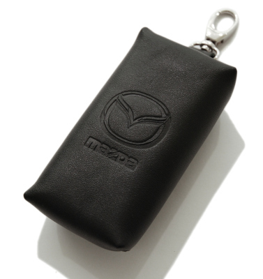 Кожаный чехол для ключа Mazda