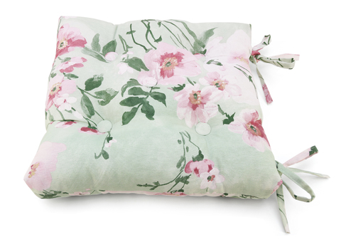 Подушка на стул Натюрель зеленый