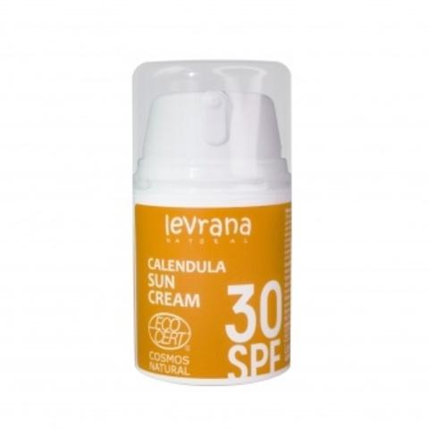Солнцезащитный крем Календула для лица и тела 30SPF, 50 мл Levrana
