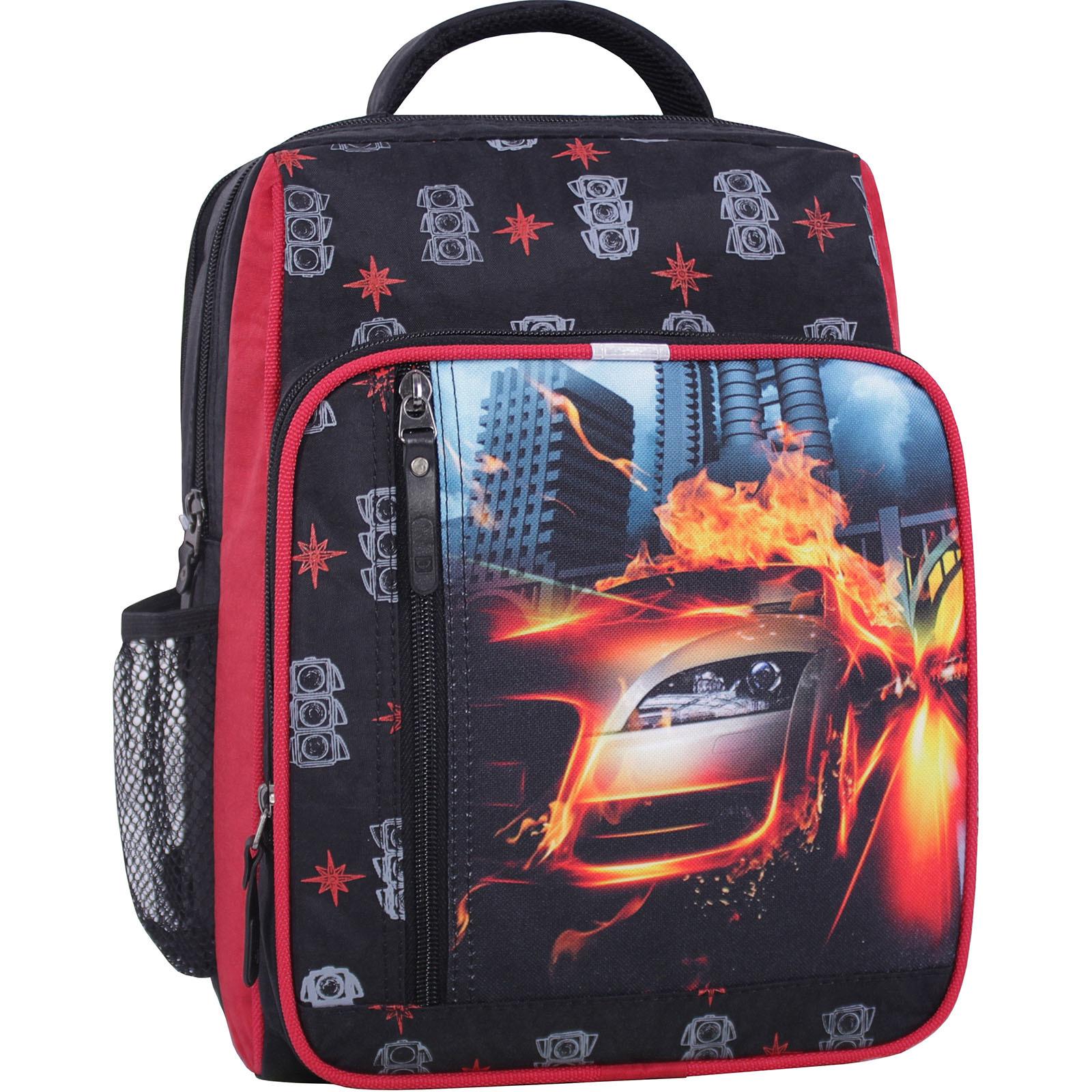 Рюкзак школьный Bagland Школьник 8 л. черный 500 (0012870) фото 1