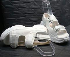 Спортивные женские сандали Small Swan PM23-3 White.