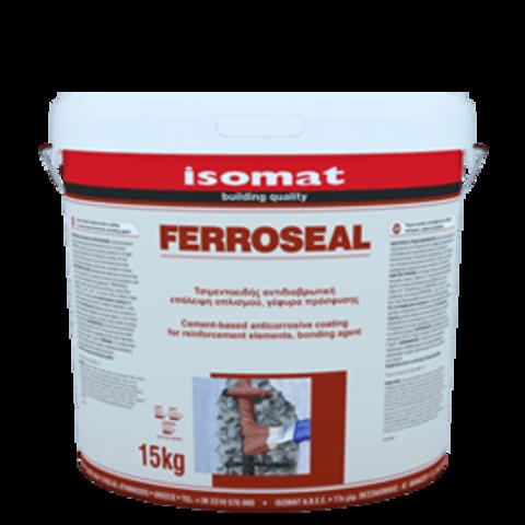 Isomat Ferroseal/Изомат Ферросил антикорозионное покрытие на цементной основе для защиты арматуры,адгезив