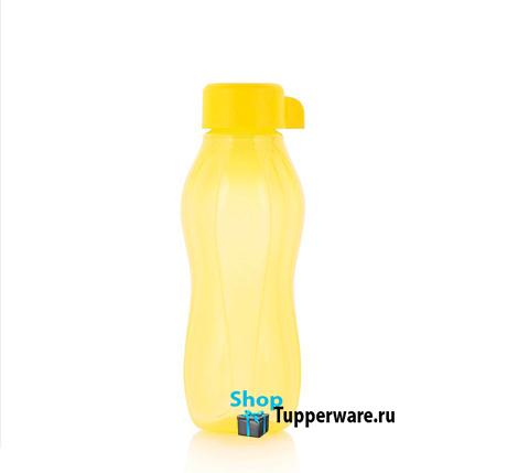 Бутылка Эко мини 310 мл в желтом цвете