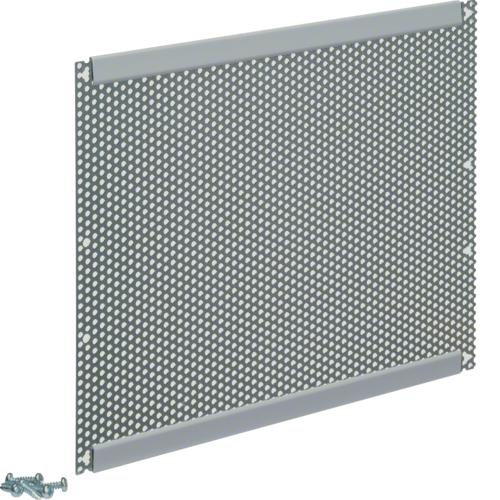 Панель монтажная перфорированная с крепежом для щитков Volta 3-х рядных встраиваемых и навесных, сталь