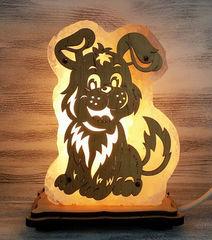 Солевая лампа Щенок 1,3 кг