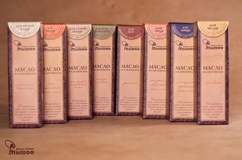 Масло косметическое Для нормальной кожи лица с эфирными маслами, экстрактом ромашки и витамином Е, 50 мл, ТМ Мылофф